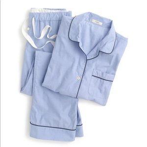 NWT J. Crew Vintage Pajama Top
